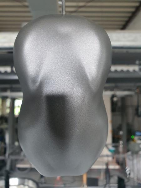Pulverlack Titanium metallic LUC1